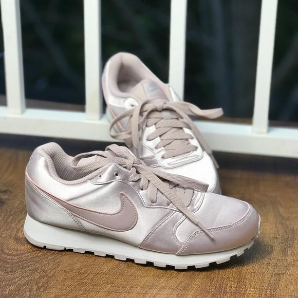 53adac450db33 NWT Nike MD Runner 2 Arctic Pink Satin WMNS